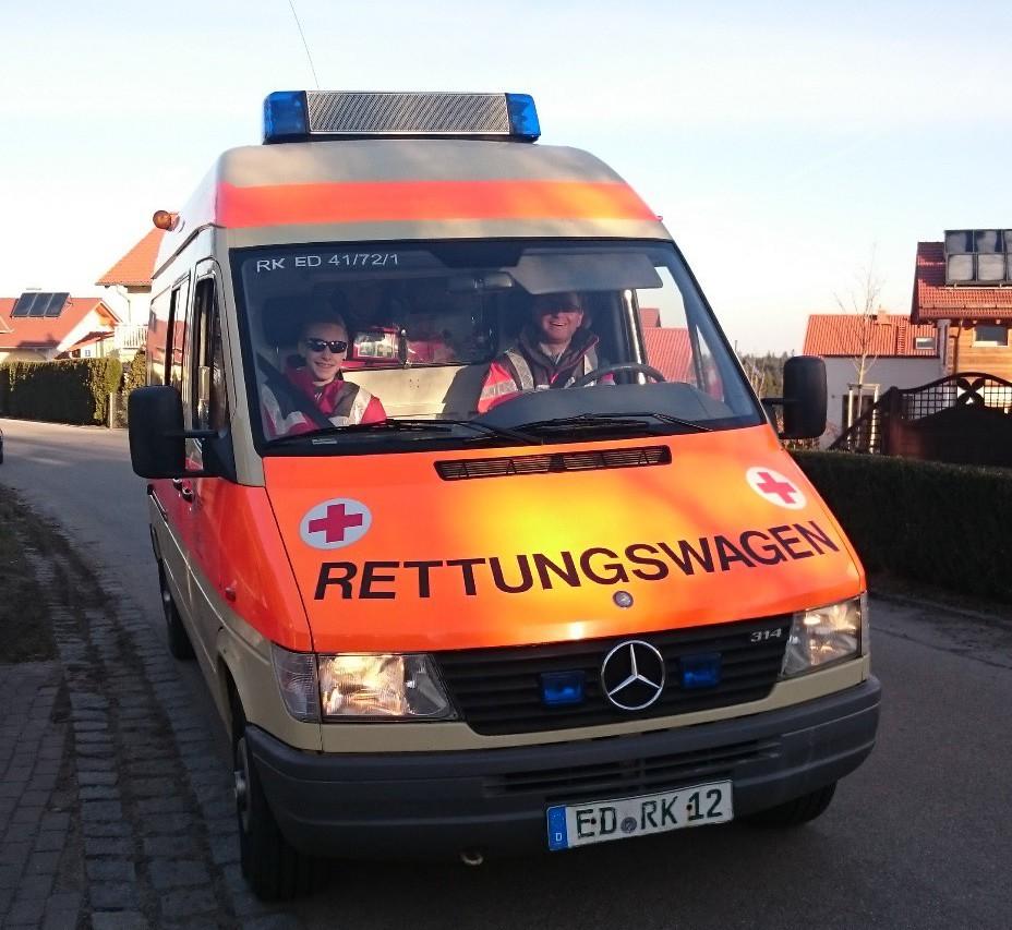 Rettungswagen der Bereitschaft Isen